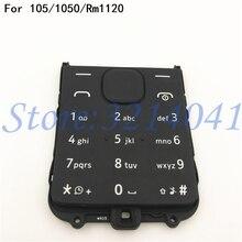 Funda Original con teclado y botones en inglés para Nokia 105 1050 Rm1120