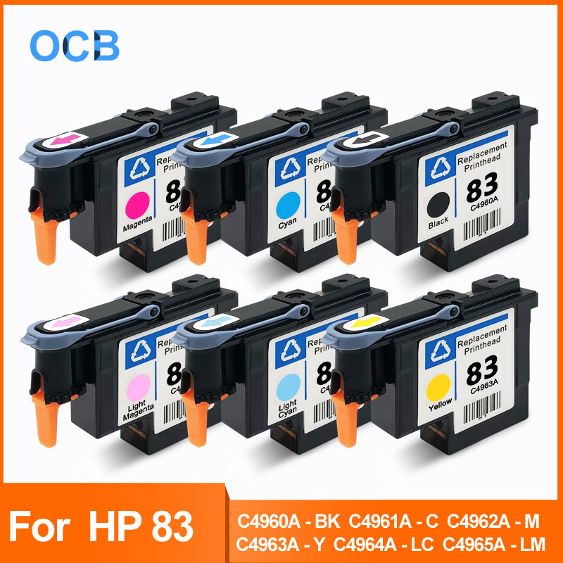 For HP 83 Printhead Print Head For HP Designjet 5000 5000ps 5500 5500ps C4960A C4961A C4962A C4963A C4964A C4965A UV Printhead
