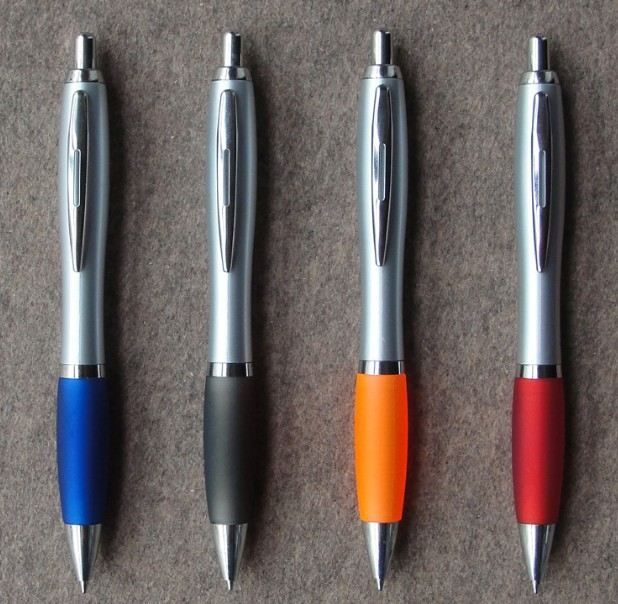 PS10002 Elegant plastic pen of ball pen ballpoint pen can make your logo for promotion gift MOQ is 500pcs