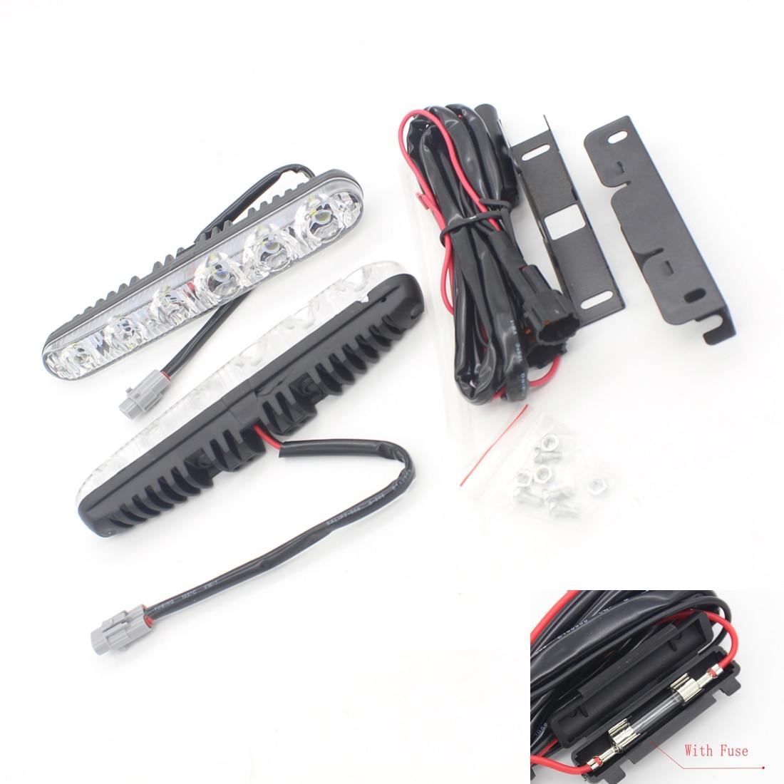 Dongzhen Car High Power And Low Beam LED DRL For Hyundai Tucson Elantra Sonata Ix25 Ix35 Ix45 Santafe Accent Verna