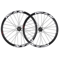 ICAN 650B Hookless Rim Carbon Mountain Bike Wheelset 35mm Width Front 15x110mm Rear 12x148mm with Shima Freehub