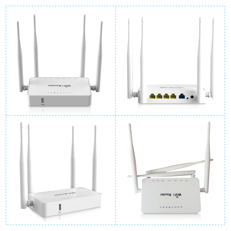 Image 5 - WE1626 Long Range Indoor Wireless Network Router With USB Port And External Antennas MT7620N openVPN 300Mbps WiFi Router-in Wireless Routers from Computer & Office