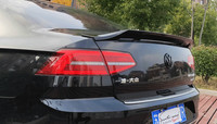 For Volkswagen Passat B8 Spoiler 2018 2019 Magotan spoiler High Quality ABS Material Car Rear Wing Primer Color Rear Spoiler