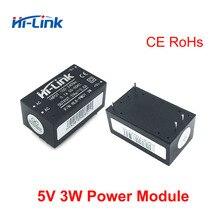 送料無料 25 個の hi リンク ac dc 5v 3 ワット降圧電源モジュールコンバータスマートホームコントロールスイッチ電源モジュール