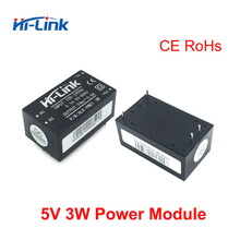 משלוח חינם 25pcs היי קישור ac dc 5v 3w באק צעד למטה אספקת חשמל מודול ממיר בית חכם מתג שליטה כוח מודול