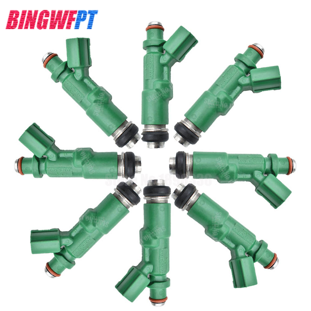 Original 8x Flow Matched 100 working Fuel Injectors For Toyota Prius Scion xA xB Echo 1