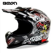 Нидерланды BEON Мотокроссу мотоциклетный шлем Электрический велосипед off road мотоцикл шлемы, изготовленные из ABS Смешанные цвета размер Ml XL
