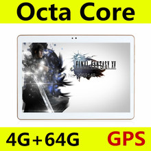 Free shipping 10.1 inch Octa Core 3G 4G LTE tablet pc Android 5.1 RAM 4GB ROM 64GB 5.0MP Dual SIM Card Bluetooth GPS Tablets pcs