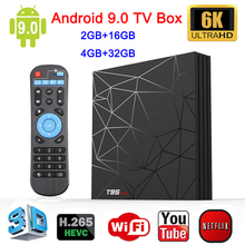 Newest TV BOX 6K Smart TV BOX Android 9.