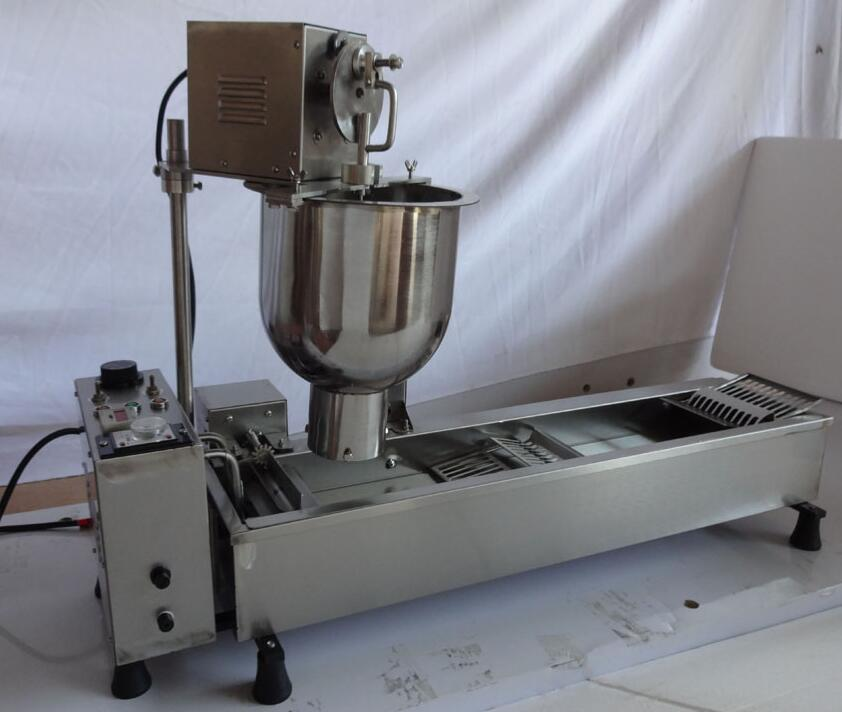Free Shipping cost Commercial Full Automatic Donuts Machine 110V 220V 3000W Stainless Steel Donuts Maker free shipping 110v 220v 5 pcs plum blossom sweet donuts making machine