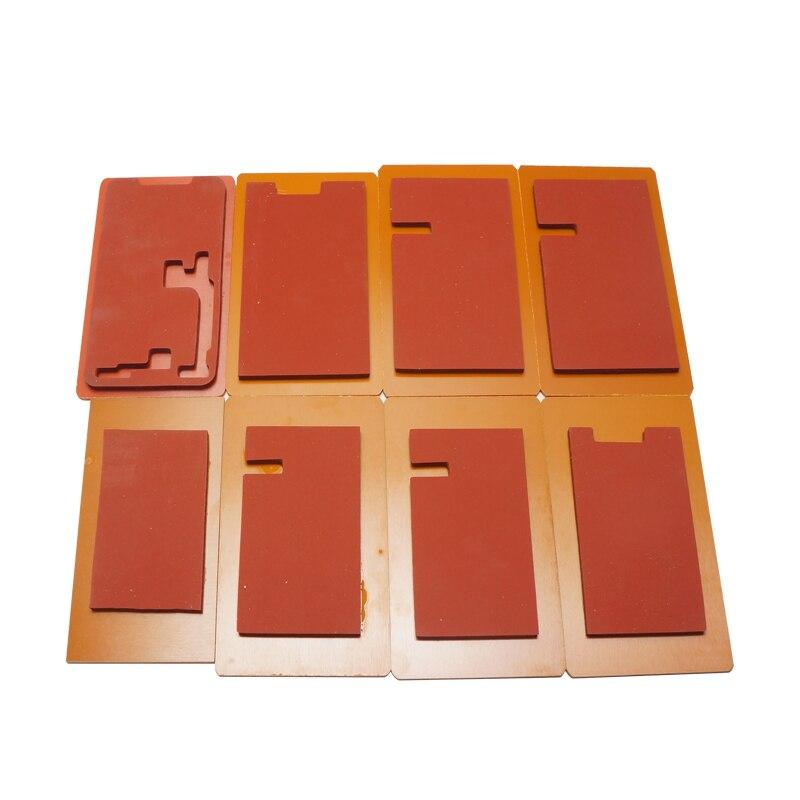 OCA alinear ubicación molde de metal para el iPhone X/5/6/6 s/7/7 ...