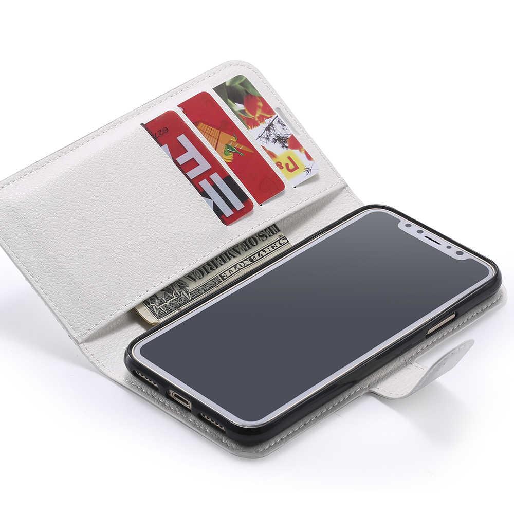 حقيبة لهاتف سامسونج جالاكسي J3 J5 J7 A5 A7 Max Plus Prime C7 C10 2017 2018 مع حامل بطاقة