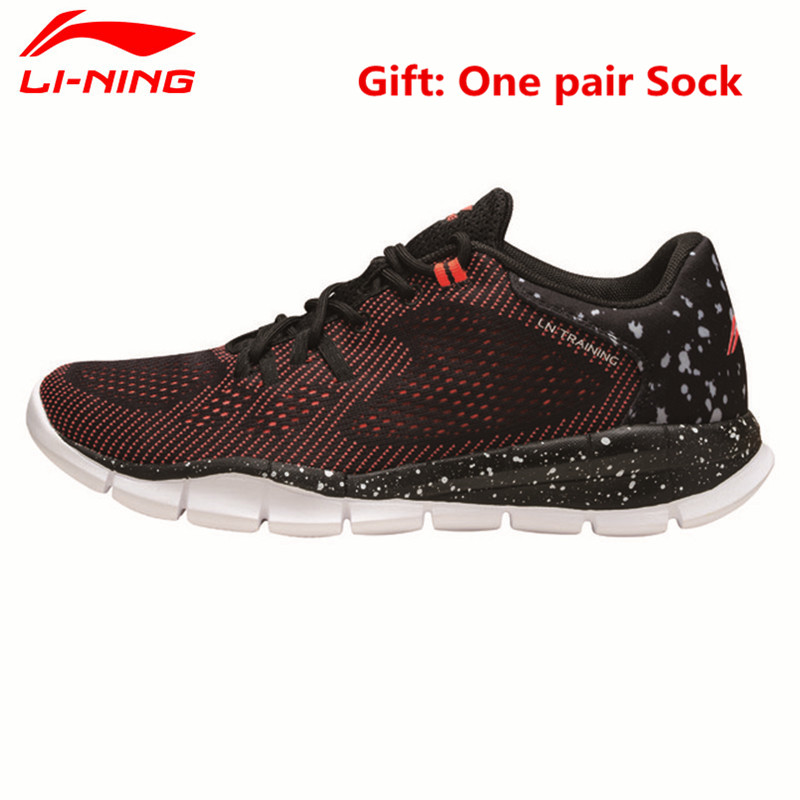 Li-Ning 2017 New Men's Light Running Shoes Breathable Sports Sneaker Comfort Man's Footwear Li Ning Jogging Walking Shoe L637 original li ning men professional basketball shoes