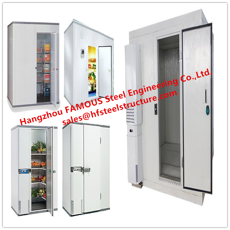 Modular Kitchen Small Cold Room With Refrigeration Unit Food Storage Cold Chamber For Restuarant Use