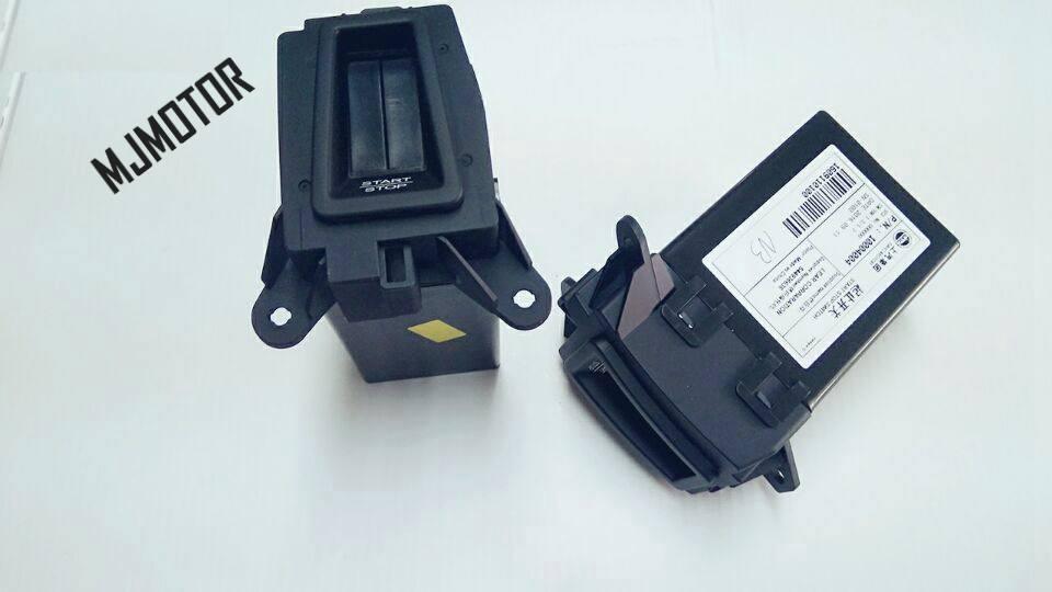 2 modèles interrupteur de démarrage-arrêt bouton d'arrêt pour chinois SAIC ROEWE 550 MG6 Auto voiture moteur pièces 10004004 - 3