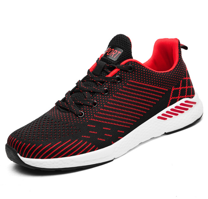 Autumn new sports shoescasual mesh shoes running shoes Korean students net single shoes