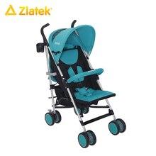 Детская прогулочная открытая коляска Zlatek Travel для детей от 7 месяцев до 3 лет, весом до 15 кг.