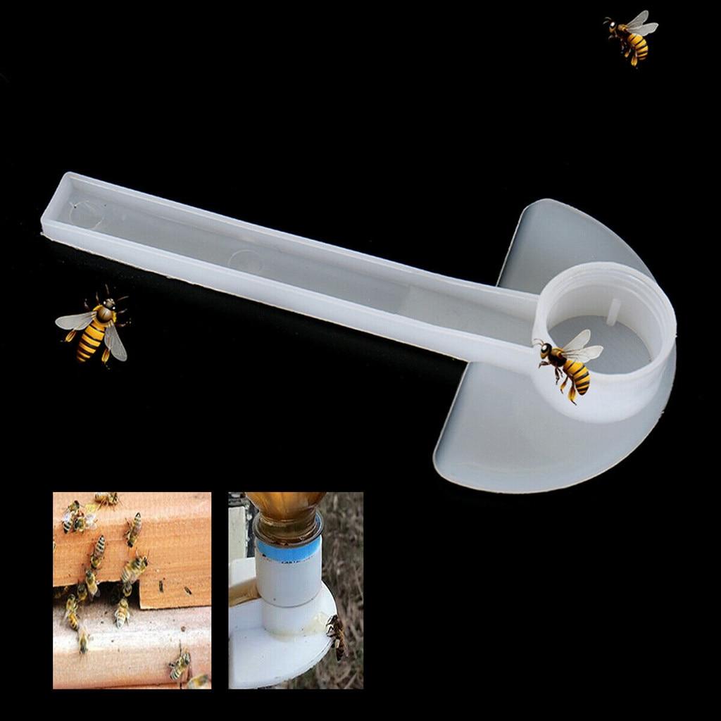 10 Pcs White Bee Feeder Honey Entrance Feeder Beekeeping Cap Feeder Bee Beekeeper Bee Keeping Equip Hive Tool10 Pcs White Bee Feeder Honey Entrance Feeder Beekeeping Cap Feeder Bee Beekeeper Bee Keeping Equip Hive Tool