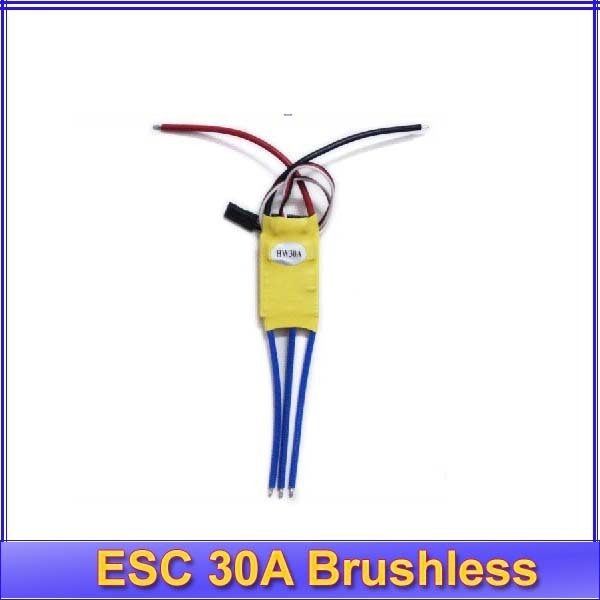 Free Shipping 5pcs/lot New RC Hobbies ESC 30A Brushless Motor Speed Controller xxd 30A esc