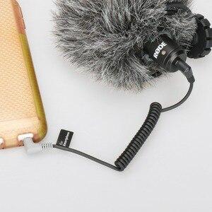 Image 2 - Ulanzi 3.5 millimetri TRS a TRRS Adattatore Cavo Splitter per RODE VideoMicro VideoMic Andare BY MM1 di Trasferimento Da Smartphone per Microfono