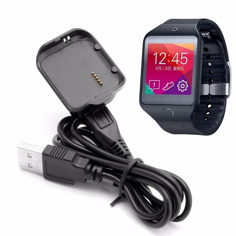 Hot R381 Charging Cradle Charger Dock for Samsung Gear 2 Neo SM-R381 kinco black smart watches chargers high quality usb charging cradle dock charger for samsung gear fit 2 smart watch sm r360