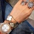 Brand new mulheres anel de noivado de zircão cúbico flor elegante para mulheres com frete grátis