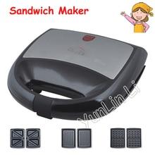 Small Breakfast Toaster Sandwich Bread Maker Household Waffle Making Machine KY 18