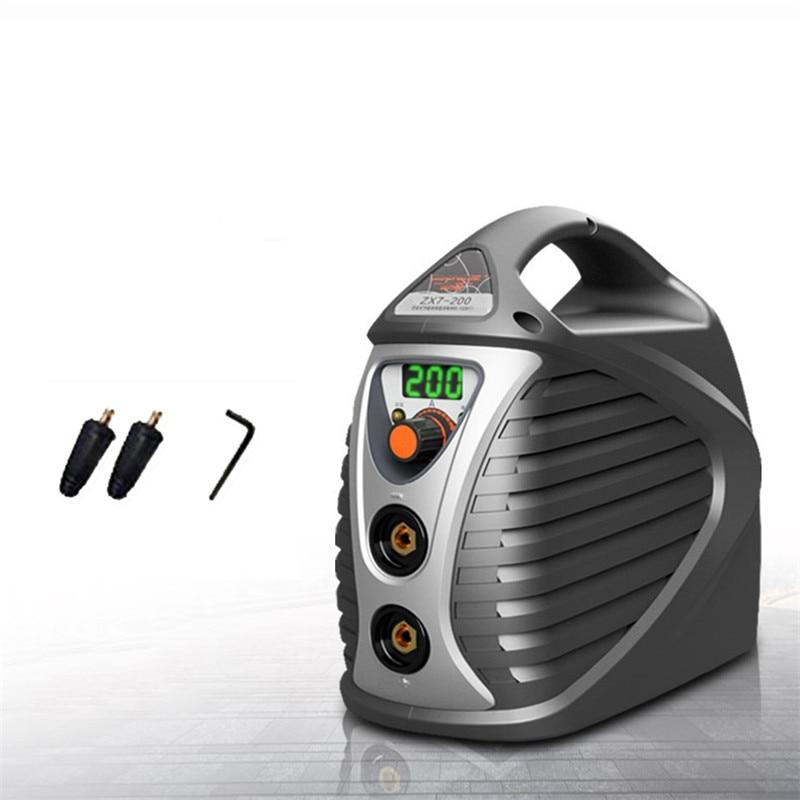 AC 220 V ARC Volle-kupfer Mini Schweißen Maschine 200A IGBT MMA Inverter Hause Industrielle Elektrische Schweißer ZX7 ABS material