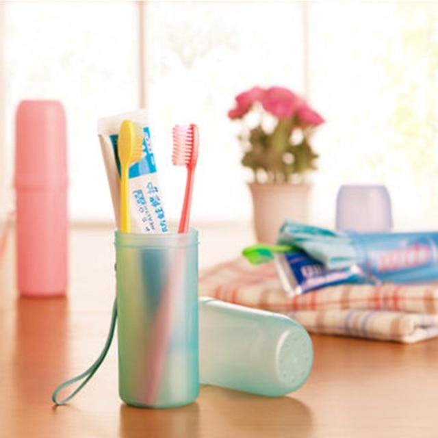 1 x Utility di colori Della Caramella Spazzolino Da Denti Holder Tooth Mug Denti