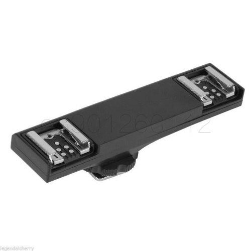 Double Flash chaussure chaude TTL hors caméra Speedlite Sync cordon bras support pour Canon 1300D 600D 650D 700D 80D 800D 5D4 5 D3 7D2 6D2 6D