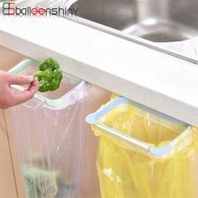 Cute Hanging Garbage Bin Towel Holder Kitchen Cupboard Drawer Door Back Stand Trash Waste Bucket Trash Basket Storage tool