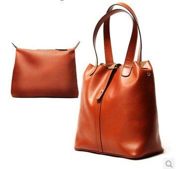 2015 New fashionista retro women pu Leather bucket tote vintage black beach shopping bags designer handbags high quality