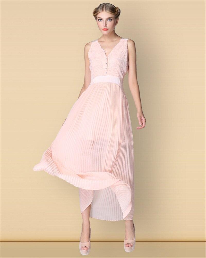 שנמשך קסם נשים שמלות באי הפיך קפלים מקסי שמלה, המפלגה שמלה, מעודדות שמלה