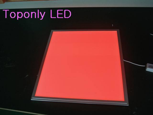 36w square smd rgb led panel light 600x600 with RF remote controller embeded installation AC100-240v CE&ROHS 8pcs/lot promotion