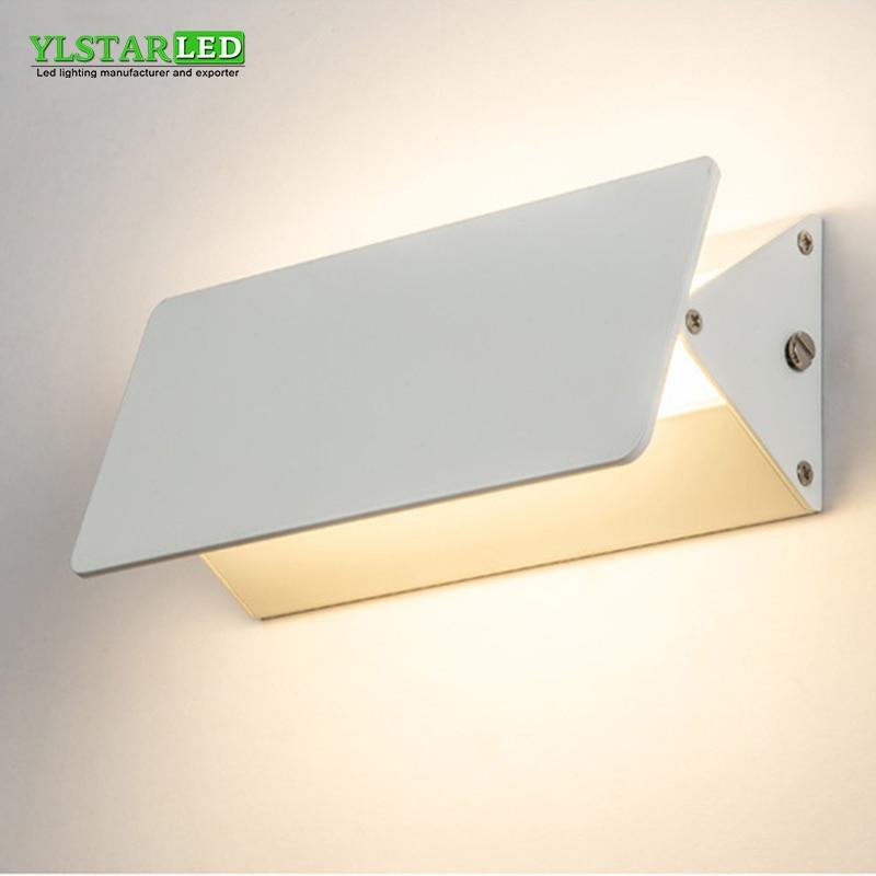 YLSTAR LED Wall Lamps 5W 10W 24W Modern European Style Foyer Living Room Bedroom Lamp Bedside Corridor Lighting Decoration