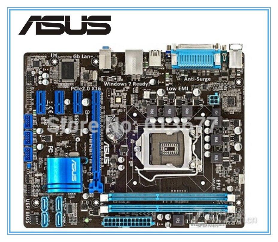 Оригинальный материнская плата Asus P8H61-M LX PLUS LGA 1155 DDR3 доски H61 рабочего Материнская плата бесплатная доставка