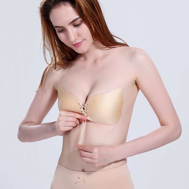 d05267f22e2a9 COMFY KIDS 2017 New Sexy Women Push Up LIFT Self-Adhesive Silicone Instant  Breast Lift Support Bra AdhesiveTape Chest Paste hot