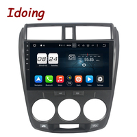 Idoing 10 1 Steering Wheel For Honda City 8 Core 2G 32G 2Din Android 6 0