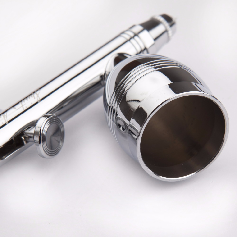 dupla acao airbrush kit 05mm agulha escova 01