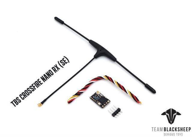 Originele Tbs Team Blacksheep Crossfire Nano Se Ontvanger Onsterfelijke T V2 Antenne Rx Crsf 915/868Mhz Long Range radio Systeem Rc