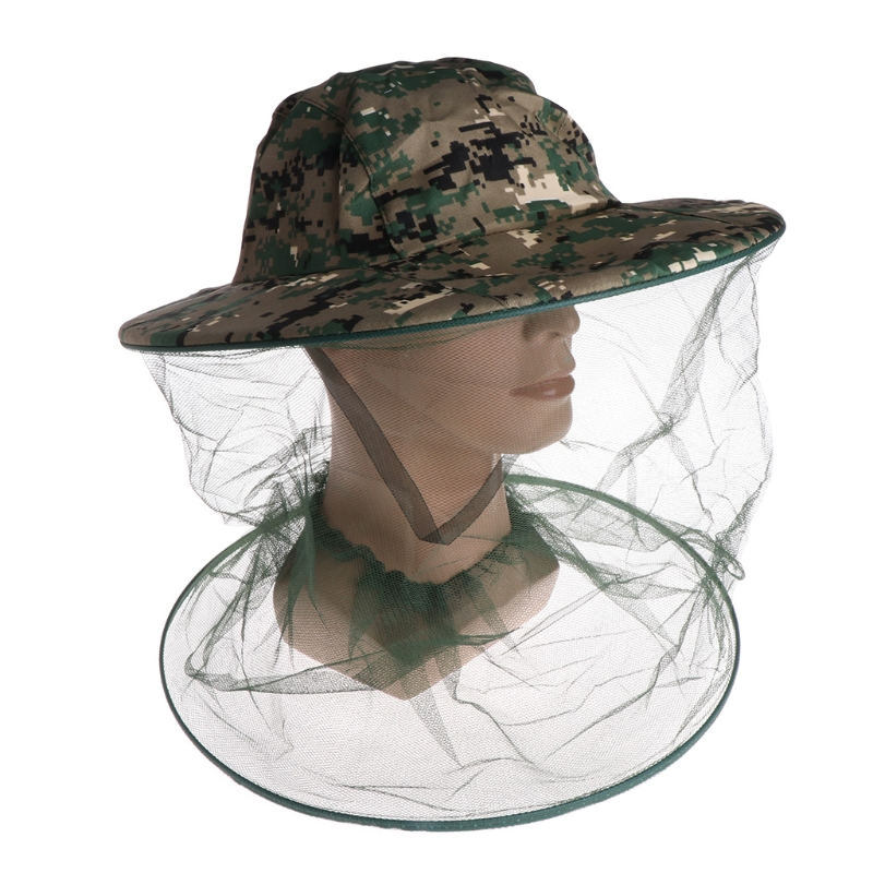 Bee Hat Beekeeping Net Head Face Protector Cap Insect For Outdoor Fishing Hiking To Have A Unique National Style Beekeeping Supplies