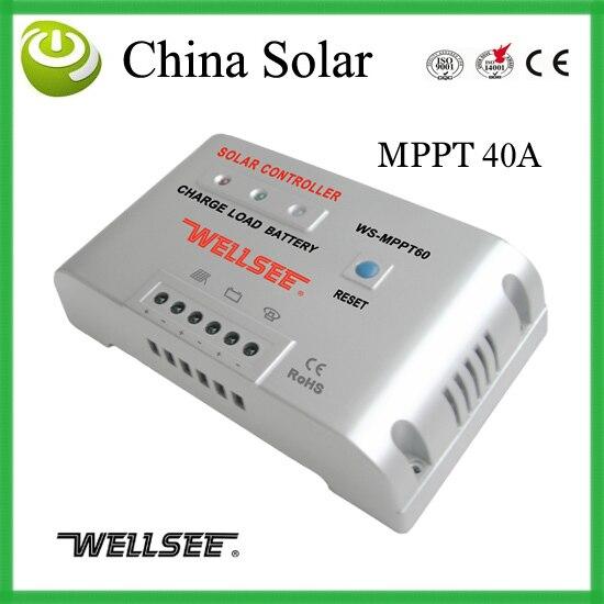 Contrôleur de panneau photovoltaïque, contrôleur de charge de batterie 40 ampères 48 tension livraison gratuite