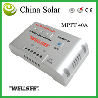 Photovoltaic panel controller,Battery charge controller 40Ampere 48Voltage Free shipping