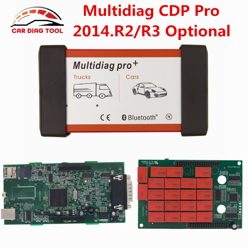 Prix pour Libérez Le Bateau! nouveau CDP 2014. R2 Multidiag Pro Bluetooth 2014. R3 TCS CDP Pro Plus OBD2 Outil De Diagnostic Double Conseil CDP Pro + Scanner
