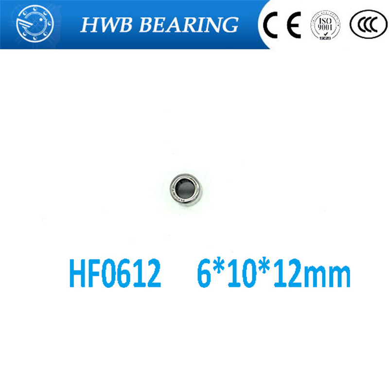 10pcs HF0612 One Way Needle Bearing 6mm x 10mm x 12 mm