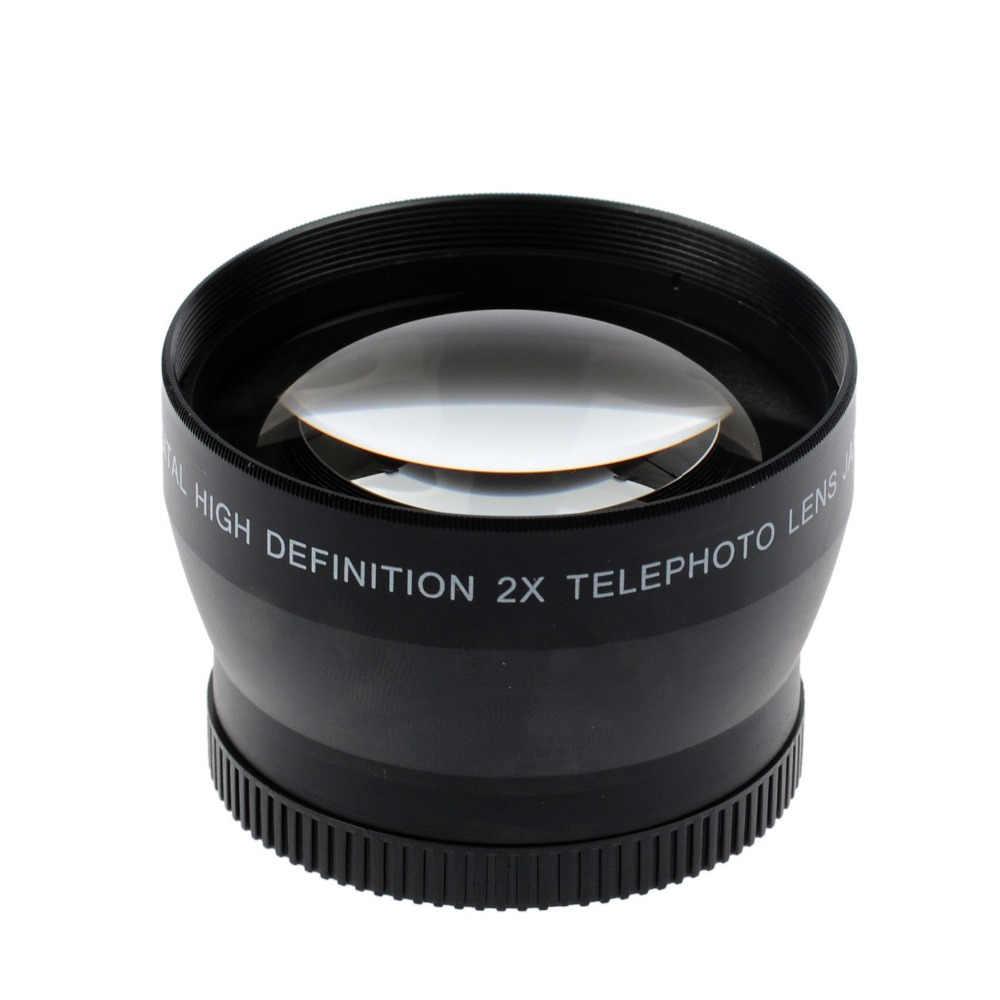 Limitx 49 мм 2X Увеличение телеобъектив для Canon EOS M5 M6 M50 M10 M100 с 15-45 мм линзы Камера