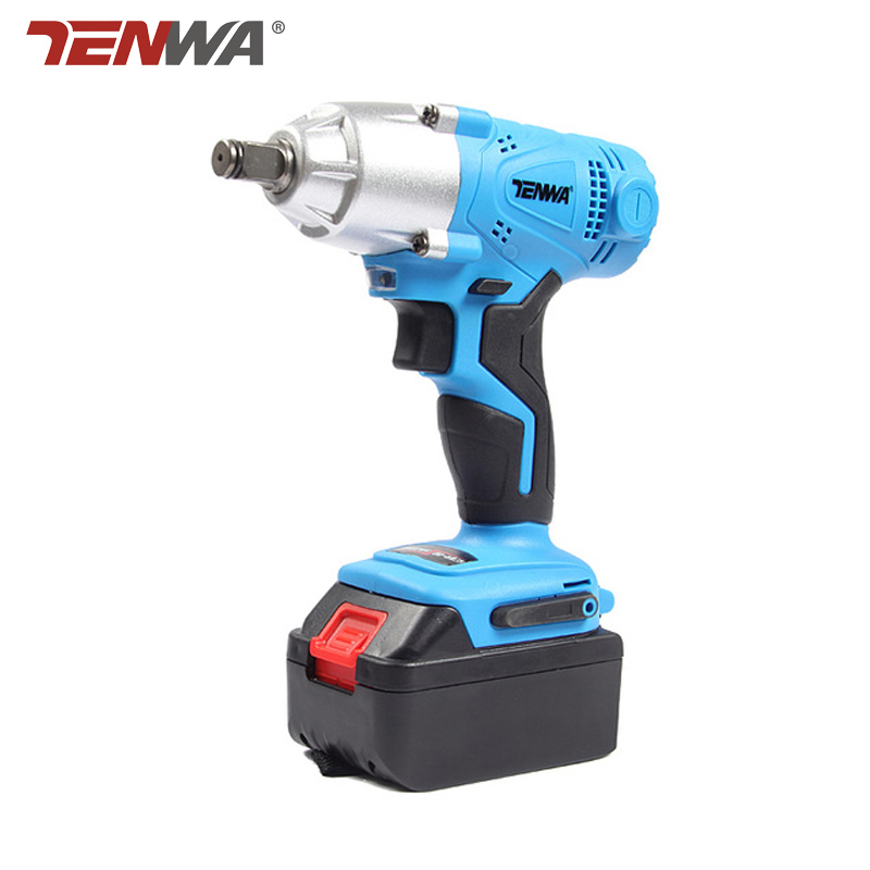 TENWA 21V Electric Impact Wrench 4000mAh  Lithium Battery Cordless Wrench Home Repair Power Tool  Brush/Brushless DrillTENWA 21V Electric Impact Wrench 4000mAh  Lithium Battery Cordless Wrench Home Repair Power Tool  Brush/Brushless Drill