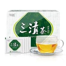 SANQING eliminar el mal aliento Natural Herbal té aliento fresco estreñimiento mejorar Gastrointestinal té chino