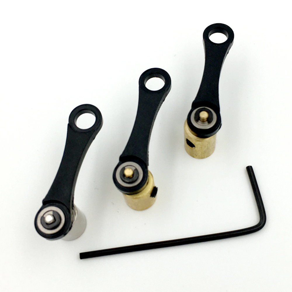 3 pieces/Set EZ Tattoo Machine Replacement Parts Bearings for Stealth Rotary Machine With 1 Allen Key