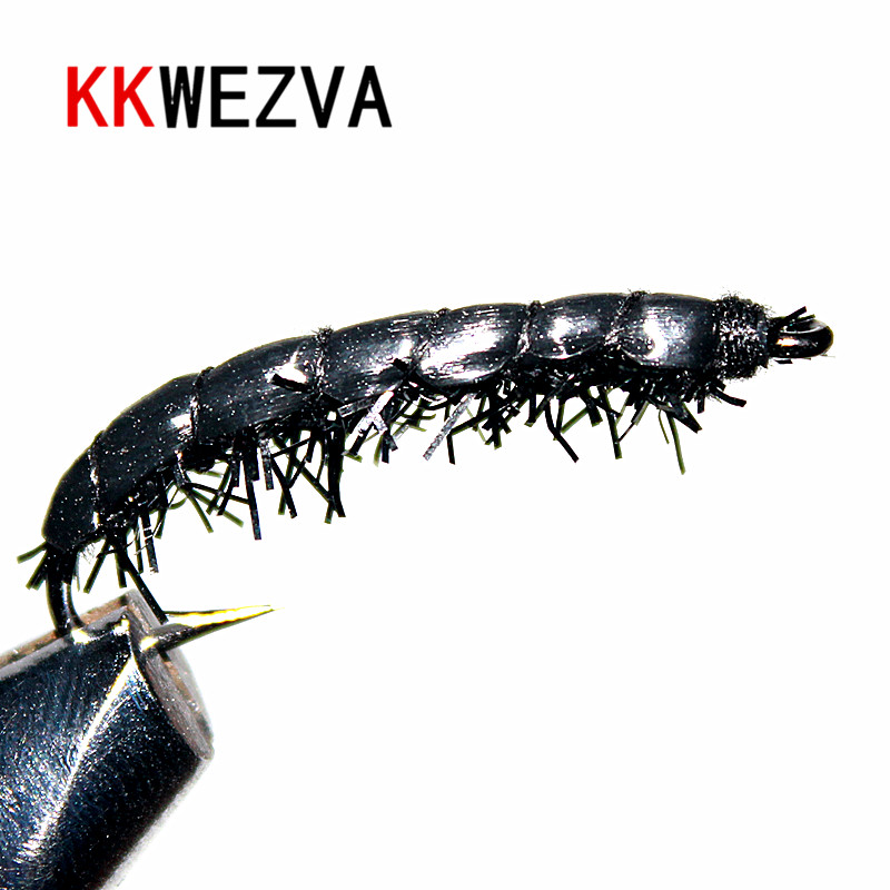 KKWEZVA 24PCS Trout Fishing Flies Scud Shrimp Scud Cezch Fly Fishing lure Fly Nymphs Multiple Color
